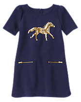 Pony Shift Dress