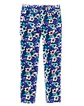 Floral Corduroy Pants