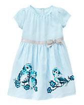 Owl Garden Dress
