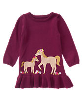 Pony Sweater Dress