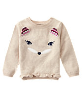 Fox Face Sweater