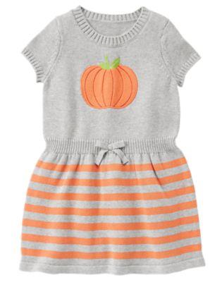 Pumpkin Sweater Dress