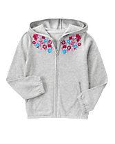 Floral Gem Hoodie