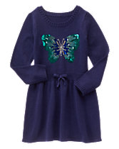Butterfly Knit Dress