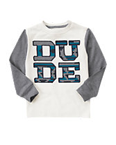 Dude Long Sleeve Tee
