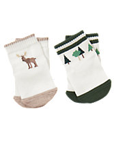 Moose & Tree Socks