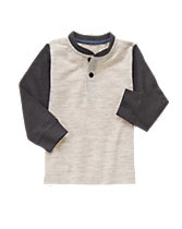 Colorblock Henley