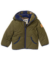 Fleece Puffer Jacket
