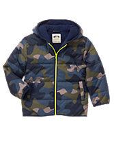 Camo Puffer Jacket