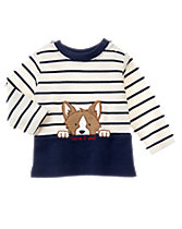 Corgi Stripe Top