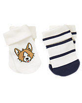 Corgi & Stripe Socks