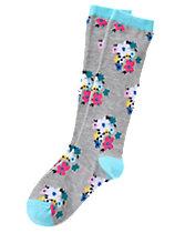 Floral Knee Socks