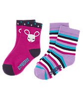 Mouse & Stripe Socks