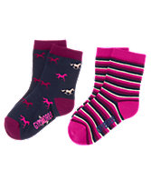 Pony & Stripes Socks