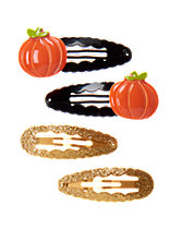 Pumpkin Clips 4-Pack