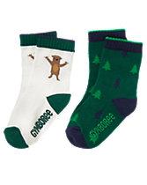 Bear & Tree Socks