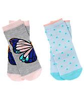 Butterfly & Dot Socks