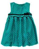 Dot Bubble Dress