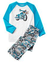 Moto Pajama Set