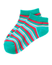 Stripe Ankle Socks