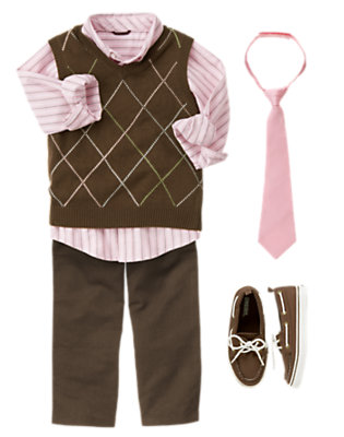 Boy's Polished & Preppy Outfit by Gymboree