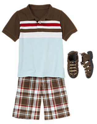 Boy's Preppy Patrol Outfit by Gymboree