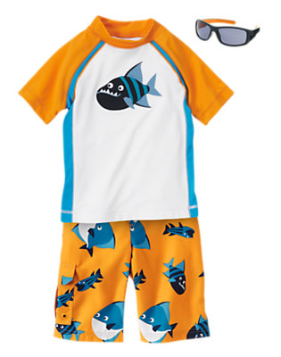 Boy's Gone Fishing Outfit by Gymboree