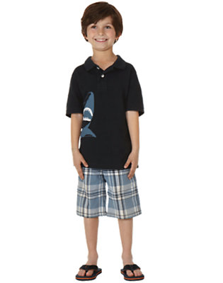 Preppy Shark Outfit by Gymboree