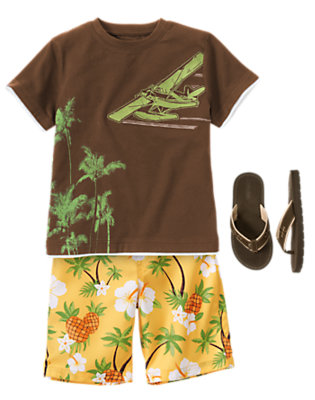 Pineapple Express Outfit by Gymboree