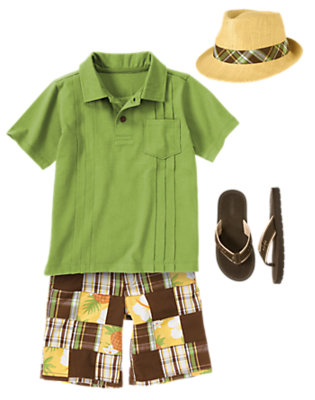 Boy's Island Vibe Outfit by Gymboree