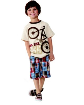 Kid Boy Bicycle Line