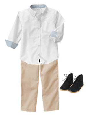 Boy's Well-Schooled Outfit by Gymboree