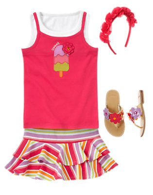 Twirl Time Outfit by Gymboree