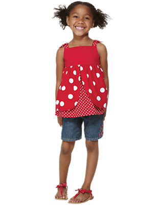 Dots Of Bright Outfit by Gymboree