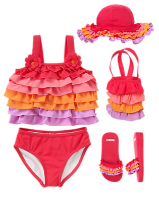 Sunshine Ruffles Outfit by Gymboree