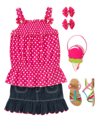 Sweet Denim Outfit by Gymboree