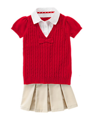 Pretty Preppy Outfit by Gymboree