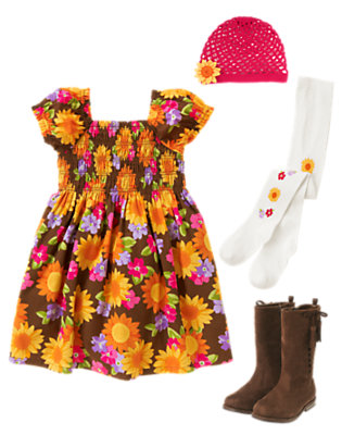 Bright as a Sunflower Outfit by Gymboree