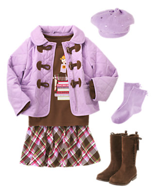 School Girls Rule Outfit by Gymboree