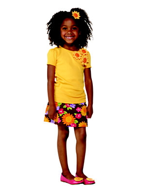Flower Power Outfit by Gymboree