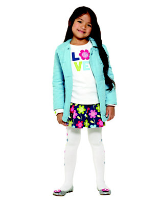 Love & Flowers Outfit by Gymboree