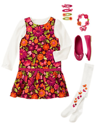 Vibrant Blossoms Outfit by Gymboree