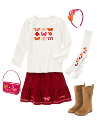 Glamour Butterfly Outfit by Gymboree