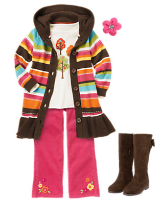 Girl's Woodsy Friends Outfit by Gymboree