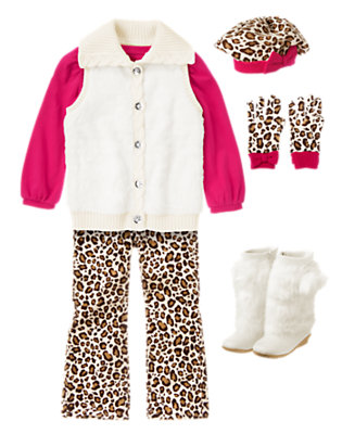 Girl's Wild At Heart Outfit by Gymboree