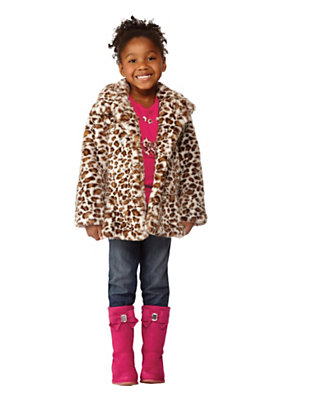 Girl's Leopard Luxe Outfit by Gymboree