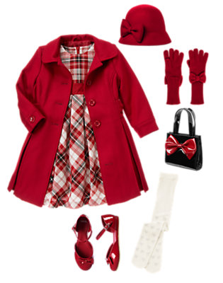 Girl's Holiday Memories Outfit by Gymboree