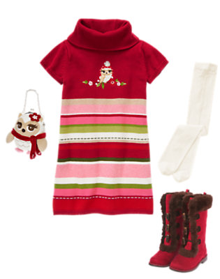 Girl's Sweater Sweet Outfit by Gymboree