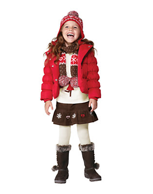Girl's Snow Days Are Here Outfit by Gymboree