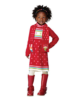 Girl's Winter Cheer Outfit by Gymboree